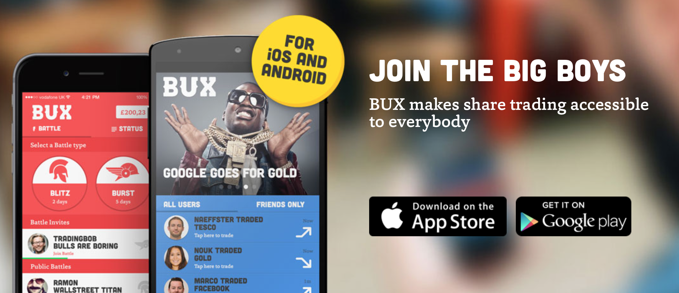 Bux Trading App