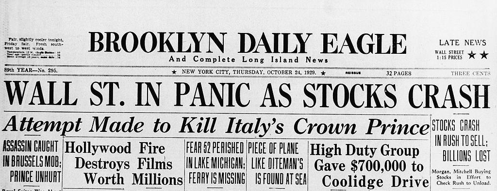 Newspaper 1929